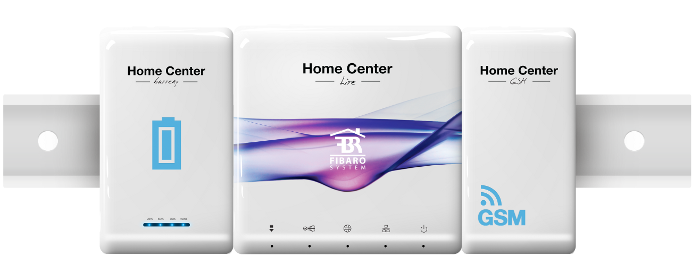 Modular Fibaro Home Center Lite