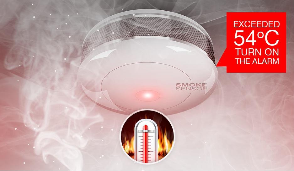 Fibaro Smoke Detector - detekce požáru