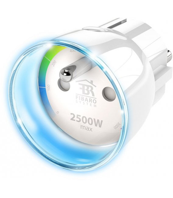 Fibaro Wall Plug (TYPE E) (FGWPE-102-ZW5)