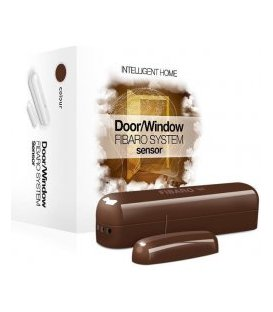 Fibaro Door / Window Sensor Dark Brown (FGK-107-ZW5)