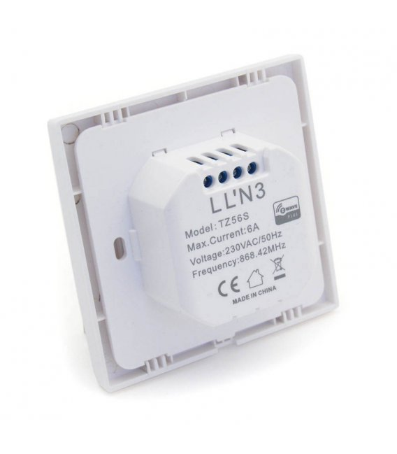 TKB Z-Wave Single Paddle Wall Switch - Gen5 (TZ56S)