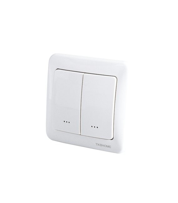 TKB Z-Wave Dual Paddle Wall Switch - Gen5 (TZ36-D)