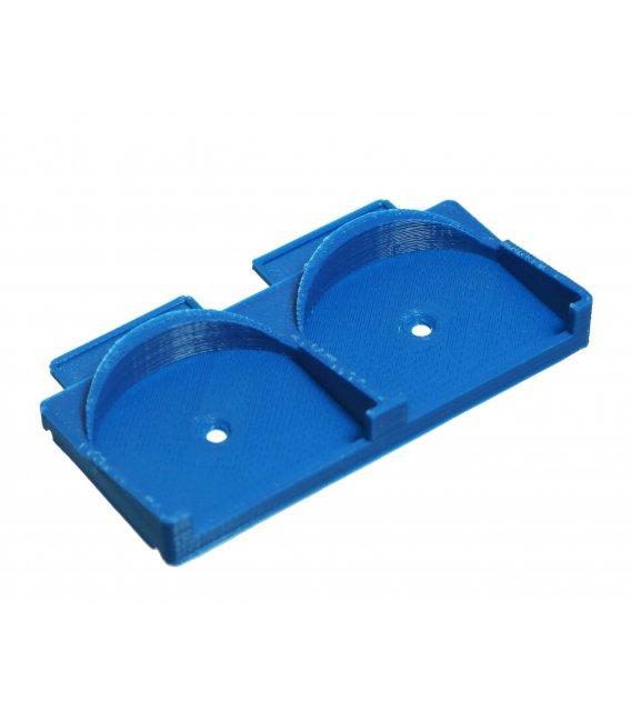 Držiak na DIN Lištu pre 2x Fibaro Relé moduly