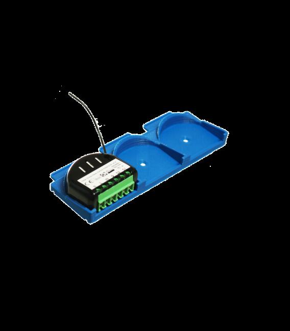 Držák na DIN lištu pro 3x Fibaro Moduly