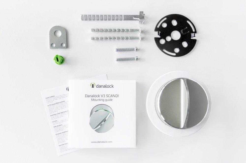 Danalock V3 Smart Lock Bluetooth Amp Z Wave Smart Door