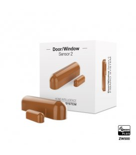 FIBARO Door / Window Sensor 2 (FGDW-002-5 ZW5) - Light Brown
