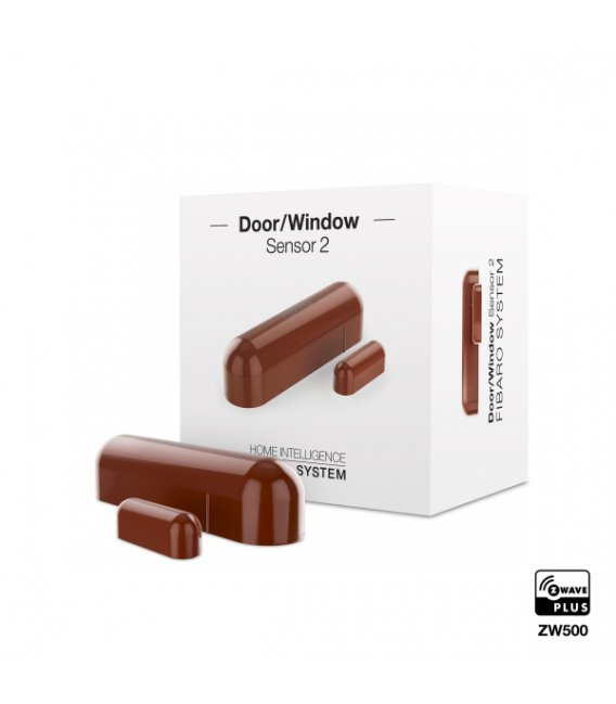 Fibaro Door / Window Sensor 2 Brown (FGDW-002-6)