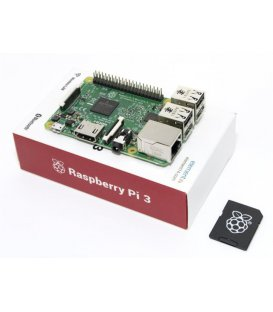 Raspberry Pi 3 Model B 1GB so 16GB NOOBS SD Kartou