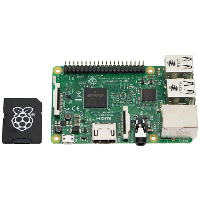 Raspberry Pi 3 Model B 1gb With 16gb Noobs Sd Card The