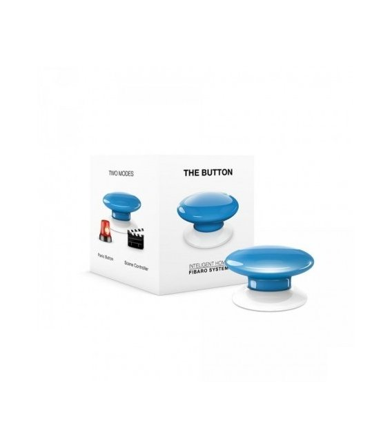 Fibaro Button - Modré (FGPB-101-7)