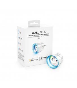 HomeKit inteligentná zásuvka - FIBARO Wall Plug Type E HomeKit (FGBWHWPE-102)