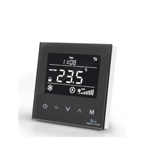 MCO Home Fan Coil Thermostat - 4 Pipe Black
