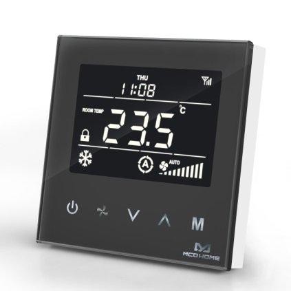 MCO Home Fan Coil Termostat - 4 Potrubní Černý