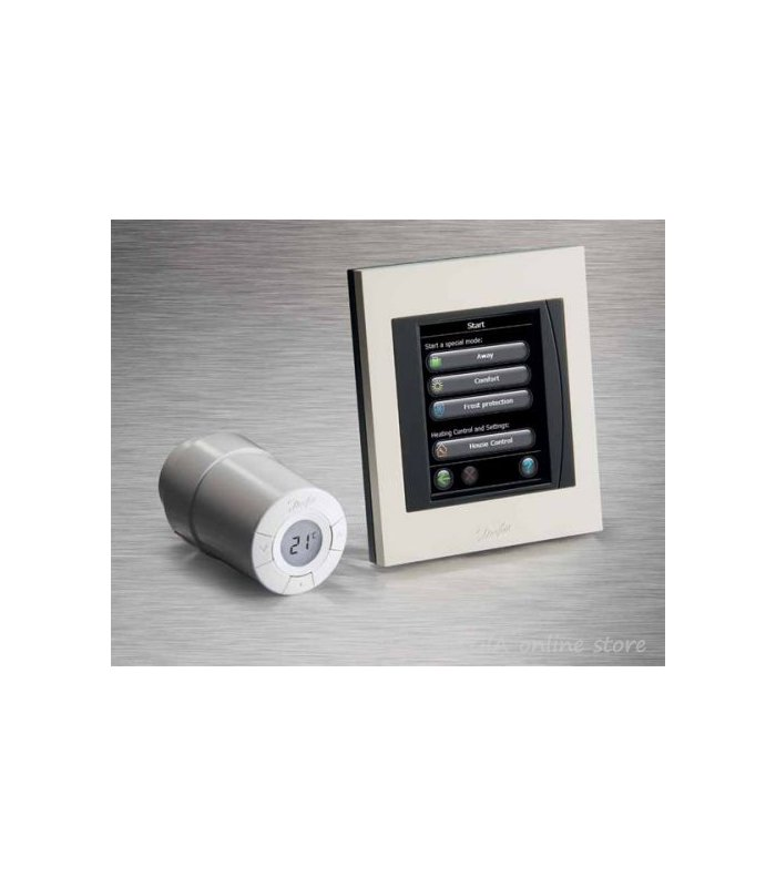 Danfoss living connect thermostatic wireless head - Danfoss living connect ...