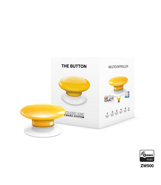 Fibaro Button - Žlté (FGPB-101-4)