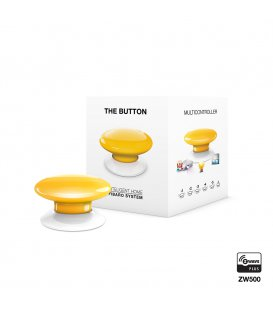 Ovladač scén - FIBARO The Button (FGPB-101-4 ZW5) - Žlté