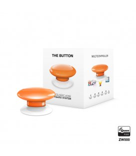 Ovladač scén - FIBARO The Button (FGPB-101-8 ZW5) - Oranžová
