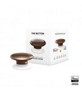 Ovladač scén - FIBARO The Button (FGPB-101-7 ZW5) - Hnědé