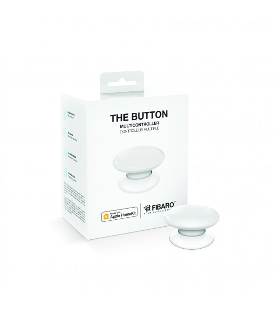 Fibaro Button HomeKit - White (FGBHPB-101-1)