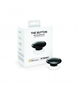 HomeKit ovladač scén - FIBARO The Button HomeKit (FGBHPB-101-2) - Černé
