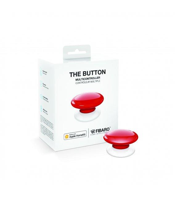 Fibaro Button HomeKit - Červené (FGBHPB-101-3)