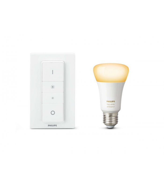 philips hue white ambiance light recipe kit 9 5w e27 package of p. Black Bedroom Furniture Sets. Home Design Ideas