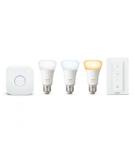Philips HUE White ambiance Starter Kit 9.5W E27