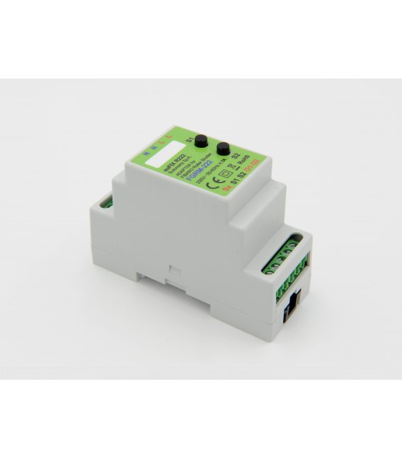 euFIX R222 DIN adapter (with button)