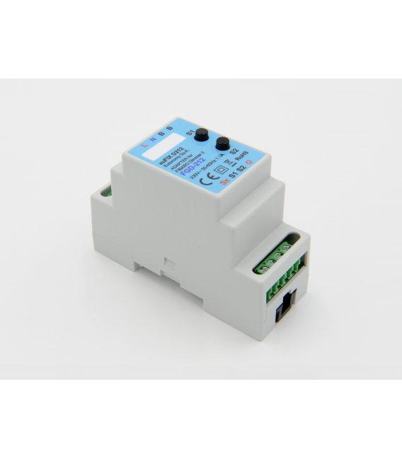 euFIX D212 DIN adaptér (s tlačidlom)