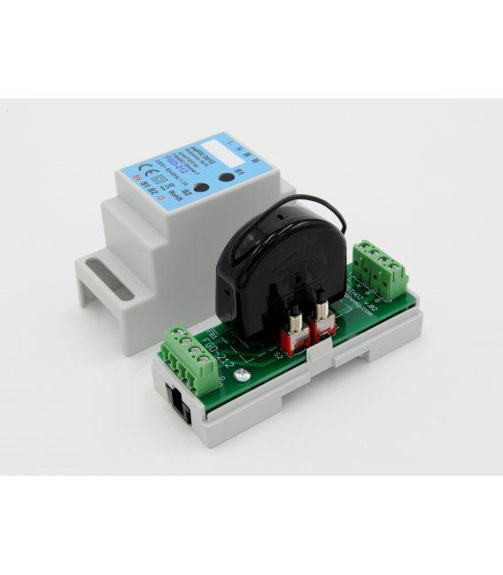 euFIX D212 DIN adaptér (s tlačítkem)