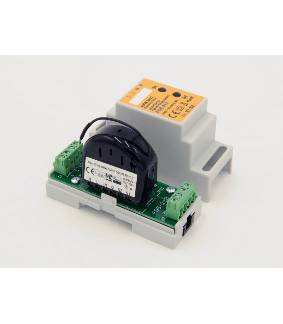 euFIX S213 DIN adaptér (s tlačidlom)