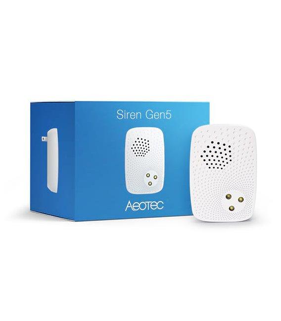 Aeotec Indoor Siren with Backup Battery