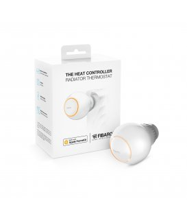 HomeKit termostatická hlavice - FIBARO The Heat Controller HomeKit (FGBHT-001)