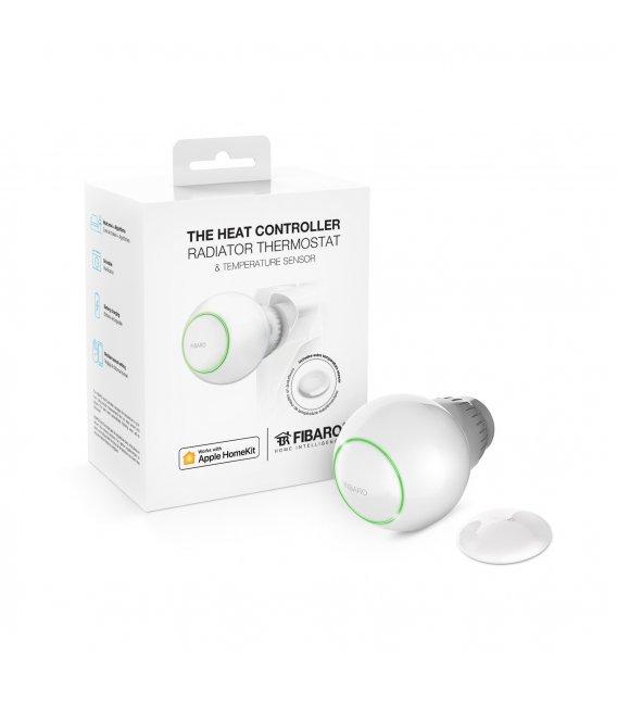 FIBARO Radiátorová Hlavica + Teplotný Senzor HomeKit