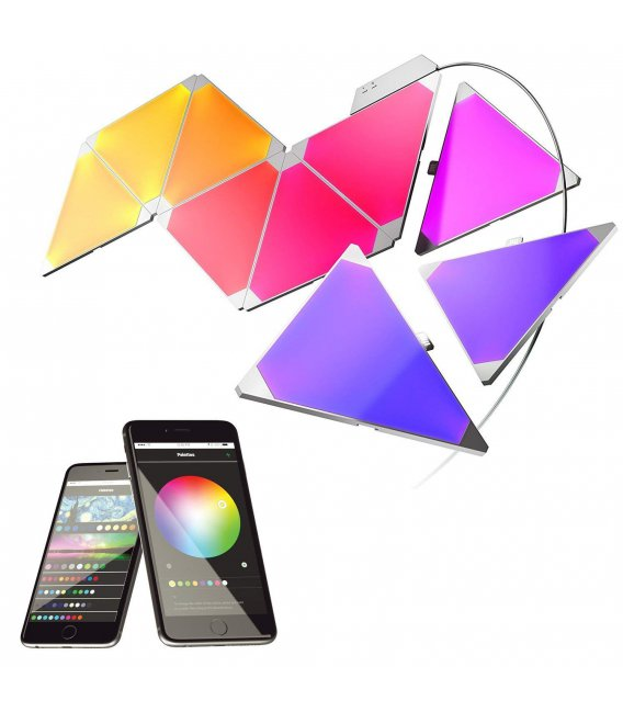 Nanoleaf Light Panels Rhythm Smarter Kit (9 panels)