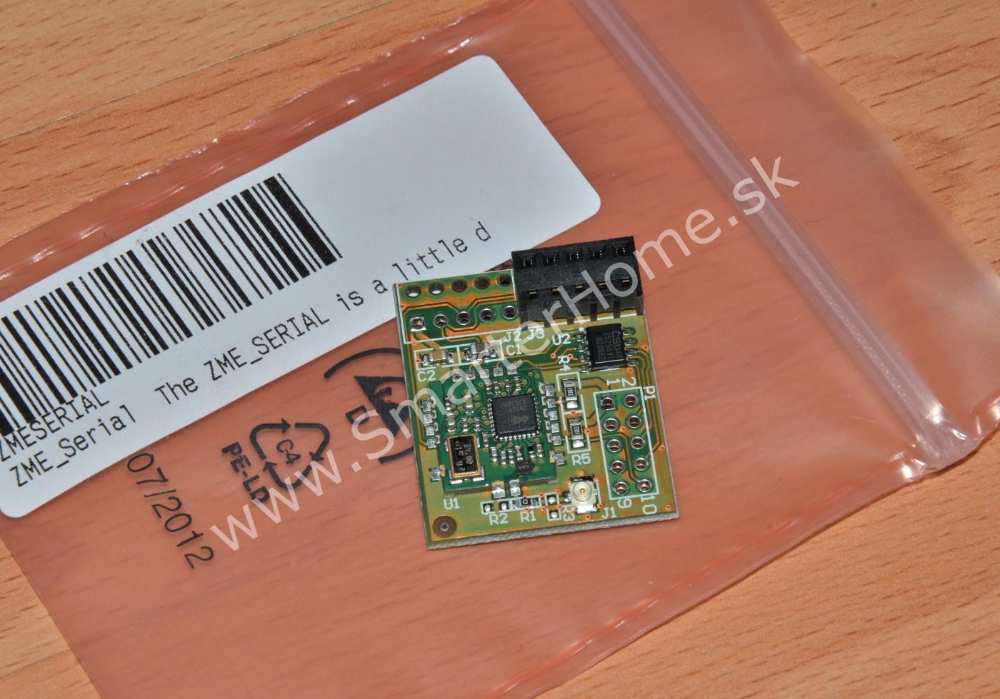 Serial Adapter Board For Z Wave Z Wave Serial Interface Soc