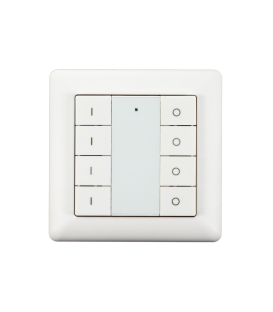 HEATIT Z-Push Button 8 - White
