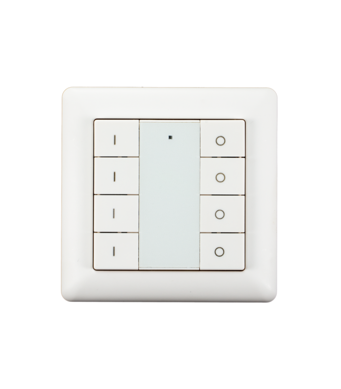 HEATIT Z-Push Button 8 - HEATIT Z-Push Button 8 Battery operated wa