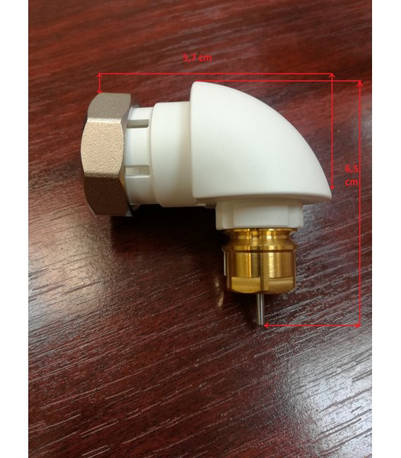 Danfoss Angle Adapter for M30x1.5 Ventils (013G1360)