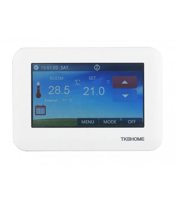 TKB Thermostat - Color Touch Panel for Electric Floor Heating (TZE96.716)
