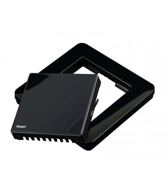 Černý rámeček pro termostaty HEAT (heat Z-TRM2 BLACK KIT)