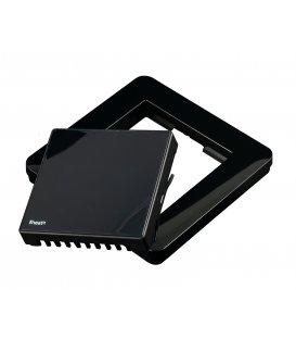 Čierny rámik pre termostaty Heatit (HEATIT Z-TRM2 BLACK KIT)
