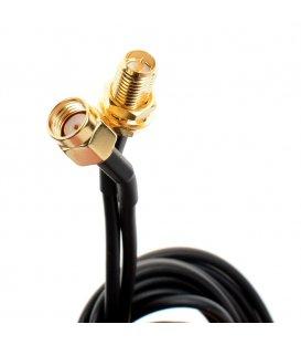 Kabel na prodloužení SMA antény - 3 m (SMA Samice na Samce)