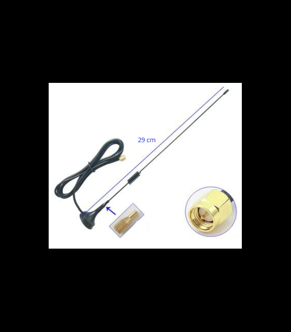 Z-Wave antenna with magnetic stand (5.0dBi gain)