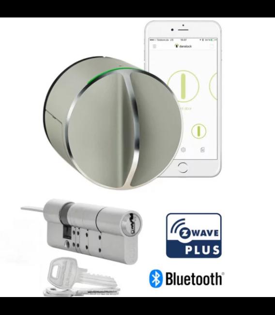 Danalock V3 Inteligentný zámok Bluetooth & Z-Wave s Cylindrickou Vložkou