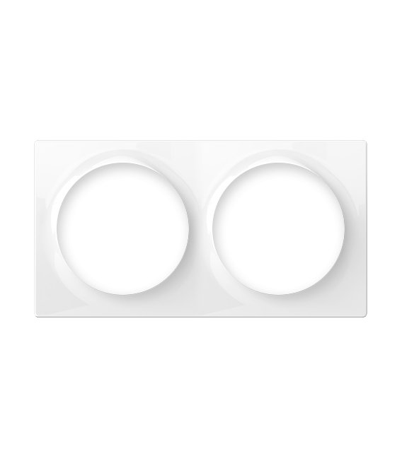 Fibaro Walli Double Cover Plate (FG-Wx-PP-0003)