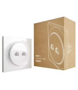 FIBARO Walli N Ethernet Outlet (FGWEEU-021)