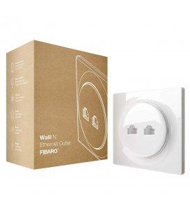 Ethernetová zásuvka bez inteligencie - FIBARO Walli N Ethernet Oulet (FGWEEU-021)