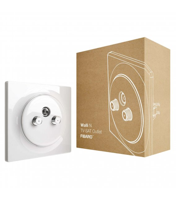 FIBARO Walli N TV-SAT Outlet (FGWTFEU-021)
