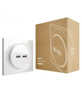 USB zásuvka bez inteligence - FIBARO Walli N USB Outlet (FGWU-021)